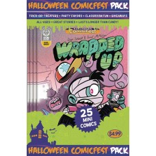 HALLOWEEN HCF 2017 WRAPPED UP MINI COMIC POLYPACK