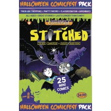 HALLOWEEN HCF 2017 STITCHED MINI COMIC COMIC POLYPACK