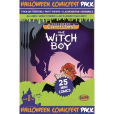 HALLOWEEN HCF 2017 WITCH BOY MINI COMIC MINI COMIC POLYPACK