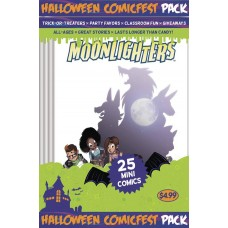 HALLOWEEN HCF 2017 MOONLIGHTERS MINI COMIC POLYPACK