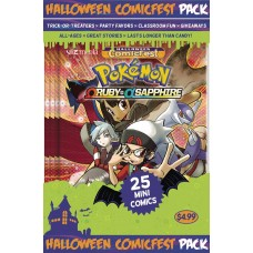 HALLOWEEN HCF 2017 POKEMON OMEGA RUBY ALPHA MINI POLYPACK