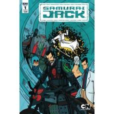 SAMURAI JACK QUANTUM JACK #1 (OF 5) CVR B CADWELL-JOHNSON