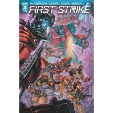 FIRST STRIKE #3 CVR A WILLIAMS II