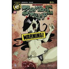 ZOMBIE TRAMP ONGOING #39 CVR B MENDOZA RISQUE (MR)