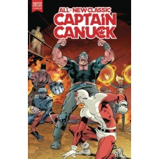ALL NEW CLASSIC CAPTAIN CANUCK #4 CVR A FREEMAN