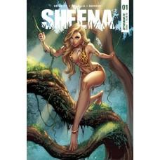 SHEENA #1 CVR A CAMPBELL