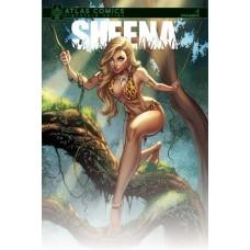 SHEENA #1 ATLAS COMICS EXC BENNETT SGN
