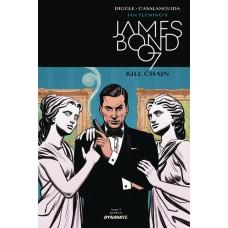 JAMES BOND KILL CHAIN #3 (OF 6) CVR A SMALLWOOD