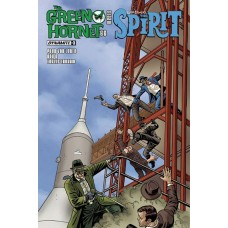 GREEN HORNET 66 MEETS SPIRIT #3 (OF 5) CVR A TEMPLETON