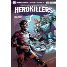 PROJECT SUPERPOWERS HERO KILLERS #5 (OF 5) CVR B BROWNE