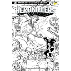 PROJECT SUPERPOWERS HERO KILLERS #5 (OF 5) CVR C 10 COPY INC