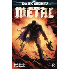 DF DARK NIGHTS METAL #1 SILVER SNYDER SGN
