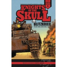 KNIGHTS OF THE SKULL GN VOL 01 BLITZKRIEG POLAND FRANCE NORT