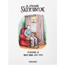 ROBERT CRUMB SKETCHBOOK HC VOL 02 SEPT 68-JAN 75 (MR)