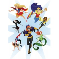 DC SUPER HERO GIRLS DOODLE COLOR & ACTIVITY BOOK