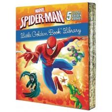 MARVEL SPIDER-MAN LITTLE GOLDEN BOOK LIBRARY