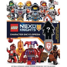 LEGO NEXO KNIGHTS CHARACTER ENCYCLOPEDIA HC