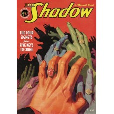 SHADOW DOUBLE NOVEL VOL 122 4 SIGNETS & 5 KEYS OF CRIME