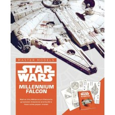 STAR WARS MILLENNIUM FALCON BOOK WITH PAPER MODEL KIT