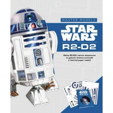 STAR WARS R2 - D2 BOOK WITH PAPER MODEL KIT