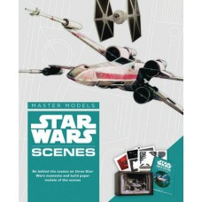 STAR WARS SCENES BOOK WITH PAPER MODEL KIT