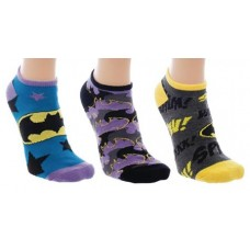 DC BATMAN 3PK ANKLE SOCKS