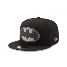 BATMAN LOGO HEXSHINE 5950 FITTED CAP 7 1/8