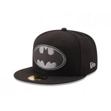 BATMAN LOGO HEXSHINE 5950 FITTED CAP 7 5/8