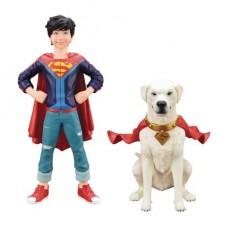 DC COMICS SUPERSONS JONATHAN KENT & KRYPTO 2PK ARTFX+ STATUE