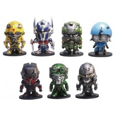 TRANSFORMERS LAST KNIGHT 2 INCH PVC FIG BOX SET A