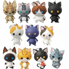 CATS SERIES 2 LASER CUT FIGURAL KEYRING 24PC BMB DS