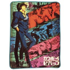 COWBOY BEBOP SPIKE SUBLIMATION THROW BLANKET