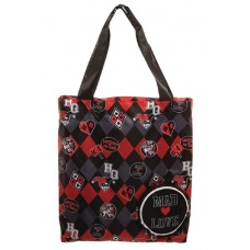 DC BATMAN HARLEY QUINN MAD LOVE PACKABLE TOTE