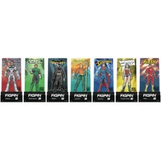 FIGPIN JUSTICE LEAGUE ENAMEL FIGURE PIN 9PC ASST
