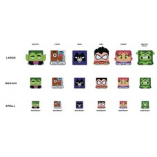 KAWAII CUBES TEEN TITANS GO NESTERZ 36PC BMB DS