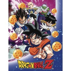 DBZ NAMEK SAGA GROUP SUBLIMATION THROW BLANKET