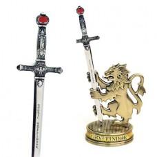 HP SWORD OF GRYFFINDOR LETTER OPENER W/ BASE