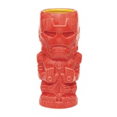 MARVEL HEROES IRON MAN GEEKI TIKI GLASS