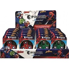 ZURU MARVEL COMICS FIDGET SPINNER 24PC ASST DIS
