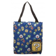 SUPER MARIO BROTHERS PACKABLE TOTE BAG