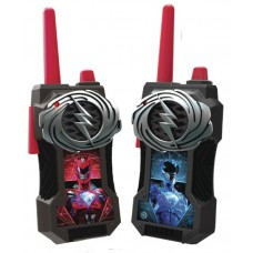POWER RANGERS LENTICULAR LONG RANGE WALKIE TALKIES
