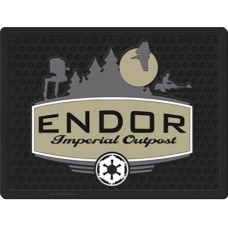 STAR WARS ENDOR IMPERIAL OUTPOST WELCOME MAT