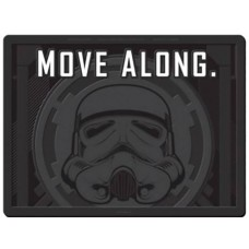 STAR WARS STORMTROOPER MOVE ALONG WELCOME MAT