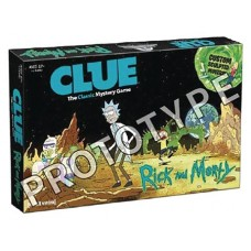 CLUE RICK AND MORTY BACK IN BLACKOUT BOARD GAME