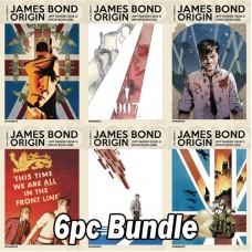 JAMES BOND ORIGIN #1 CVR A B C D E F 6PC BUNDLE