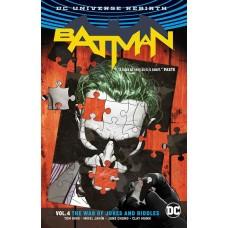BATMAN TP VOL 04 THE WAR OF JOKES & RIDDLES (REBIRTH)