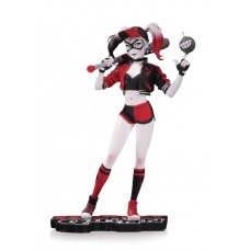 HARLEY QUINN RED WHITE & BLACK STATUE BY CHEN STATUE