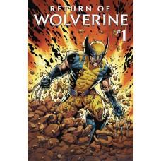 RETURN OF WOLVERINE #1 (OF 5)
