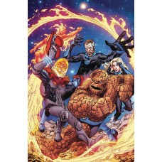 FANTASTIC FOUR #2 RANEY COSMIC GHOST RIDER VARIANT