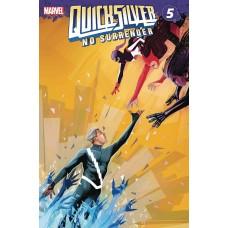 QUICKSILVER NO SURRENDER #5 (OF 5)